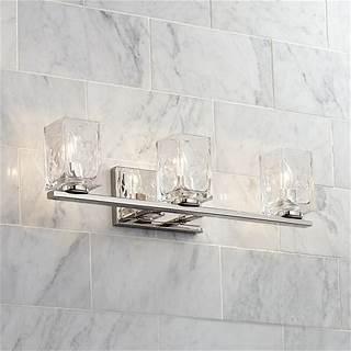 Possini Euro Crystal Rain 24 Wide Chrome Led Bath Light Style 63d46 Bing Shopping