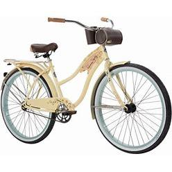 Huffy Panama Jack 26-Inch Beach Cruiser Bike For Women Size: 26 Inch, Yellow