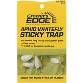 Grower's Edge® Aphid Whitefly Sticky Traps (Grower's Edge Aphid Whitefly Sticky Trap 5/Pack)