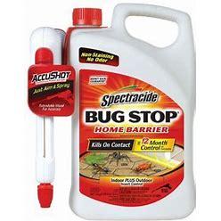 Spectracide Bug Stop Home Barrier, Accushot Sprayer, 1.33 Gal, HG-96380