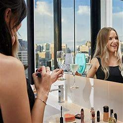 Sipski Bath | New Sipski Suction Bubblebath Wine Glass Holder | Color: Blue/Gray | Size: Various