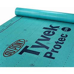 Dupont Tyvek Protec 200 Roof Underlayment 2 Square - Single Roll