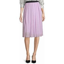 Worthington Womens Assymetrical Pleated Skirt - Tall, X-large Tall , Purple