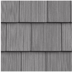 The Foundry 7In. Vinyl Perfection Shingles (1 Square) 258 Eastern Grey