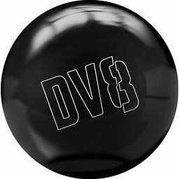 DV8 Polyester Just Black Bowling Ball | BowlersMart