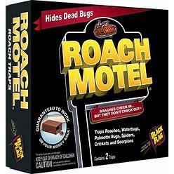 BLACK FLAG Roach Motel 2-Count Roach Bait Station (2-Pack) | HG-11020