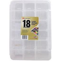 Akro-mils Craft Storage Case 14.25x 9.5 18 CompClr, Size: Large