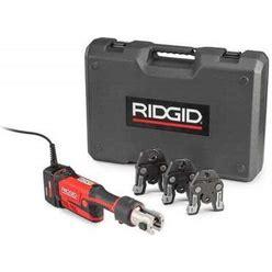 Ridgid 67198 Press Tool Kit, 8 Sec Crimp Time, 15 A