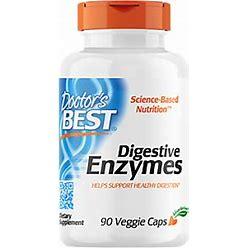 Doctors Best - Digestive Enzymes For Healthy Digestion (90 Vegetarian Capsules) - Digestive Enzymes