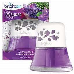 2Pc Bright Air Scented Oil Air Freshener, Sweet Lavender And Violet, 2.5 Oz (900288Ea)