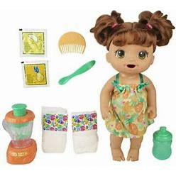 Baby Alive Magical Mixer Baby Doll Tropical Treat, Blender,