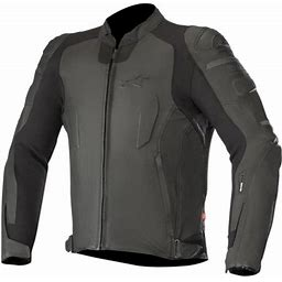 Alpinestars Specter Leather Jacket (48, Black)