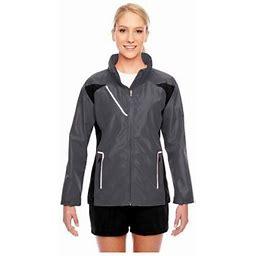 Team 365 Ladies Dominator Waterproof Jacket, Style Tt86w, Women's, Size: 2XL, Gray