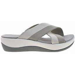 Clarks Arla Elin Women's Sandals Sand Multi 26149527, Size: 12 Medium, Gray