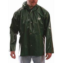 Tingley J22168 Iron Eagle Rain Jacket, Unrated, Green, M, Adult Unisex, Size: Medium