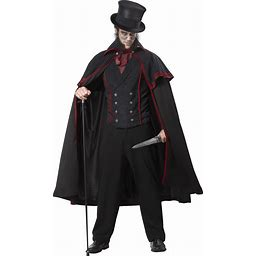Jack The Ripper Mens Costume   Adult   Mens   Black   L   California Costume Collection