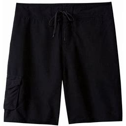 Sporti Men's Essential Board Short, Size: 28, Black