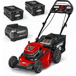 Snapper 82-Volt Brushless 21-In Self-Propelled Cordless Electric Lawn Mower 2 Ah (Battery And Charger Included)   1687982