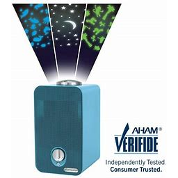 Germguardian Air Purifier With Hepa Filter, Night Light Projector And Uv-c, Ac4150blca 11-Inch, Blue