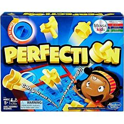 Perfection Board Game, Board Games