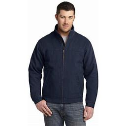 Cornerstone Men's Adjustable Cuffs Port Pocket Cotton Work Jacket Csj40, Size: 6XL, Blue