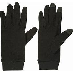Mountain Warehouse Merino Mens Liner Gloves - Black | Size L