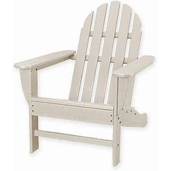 Polywood Classic Adirondack Chair In Sand - Polywood - Outdoor Relaxers - Sand