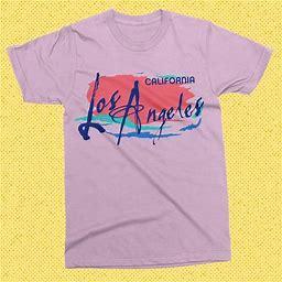 Los Angeles Shirt - 80S Vintage Los Angeles Graphic Tee - Retro Los Angeles Tshirt - California Shirt