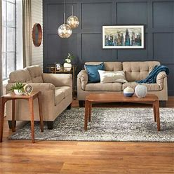 Simple Living Mitchell 2-Piece Living Room Set