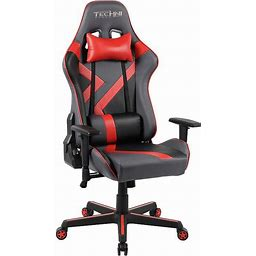 Techni Sport TS-70 Office-PC Gaming Chair, Red