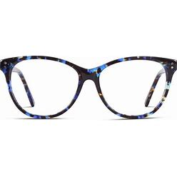 Womens' Eyeglasses Frames Muse Marlene   Available With Blue Light Blocking Lenses   Single Vision Value/Silver Lens Package Included