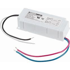 CCPSD Series Constant Current LED Driver - Diodedrive® - TRIAC Dimmable - 35W - 1400Ma - 18-25 VDC, CCPSD-35W-1400T