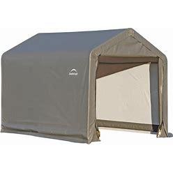 Shelterlogic 5.96-Ft X 5.98-Ft Canopy Storage Shelter In Gray   70401