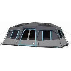 Ozark Trail 20' X 10' Dark Rest Instant Cabin Tent, Sleeps 12, Gray