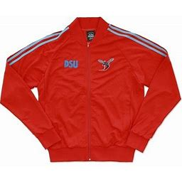 Cultural Exchange Big Boy Delaware State Hornets S2 Mens Jogging Suit Jacket [Red - L], Men's, Size: Large