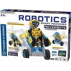 Thames & Kosmos Robotics: Smart Machines - Hoverbots W/ Balancetech STEM Experiment Kit | Build 8 Self-Balancing Robots | Color Manual & 3D Digital