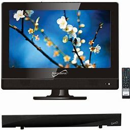 Supersonic 13.3 Inch Class - HD LED TV - 720p, 60Hz (sc-1311) And Sc-612 Hdtv Flat Digital Antenna