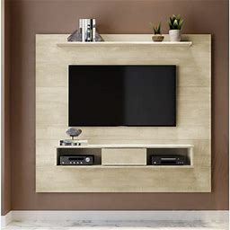 """Langley Street® Norloti Floating Entertainment Center For Tvs Up To 70"""" Color: Sand"""
