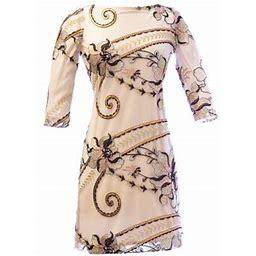 Von Vonni Women's London-C Dress, Size: XS, Brown