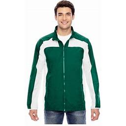 Team 365 Men's Squad Jacket, Style Tt76, Size: 2XL, Green