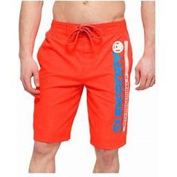 Superdry Board Shorts Havana Orange Men's Swimwear M30015at-horg, Size: Medium