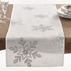 The Holiday Aisle® Nivalis Table Runner In Gray/Brown   Size 54.0 W X 16.0 D In   THLA3361_22249764_41836437