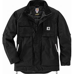 Carhartt Yukon Full Swing Insulated Coat Men's Coat Black : 3X-Large