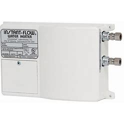 Chronomite Labs 120V Undersink Electric Tankless Water Heater, 3,600 W Watts, 30 A Amps - Water Heaters Model: SR-30L/120 HTR-I