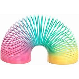 Plastic Rainbow Spring Toy Party Favors, 8Ct, Multicolor