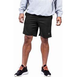 Champion Big Men's Jersey Shorts, Up To 6XL, Size: 5, Black