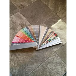 Sherwin Williams Architect Paint Color Fan Deck Interior Exterior Fandeck (2020)
