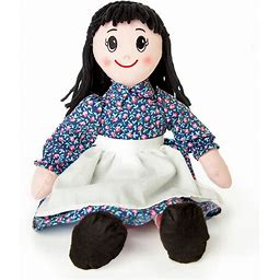 """The Queen's Treasures Officially Licensed Little House On The Prairie 18"""" Charlotte Rag Doll - Multi"""