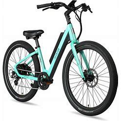 Pace 500 Step Through E-Bike | Aventon Bikes Medium / Celeste