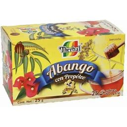 Therbal Te De Abango Con Propoleo Abango Tea Propolis Echinacea 25